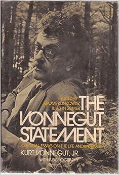 kurt vonnegut jr essays Kurt vonnegut's short stories study guide contains a biography of author kurt vonnegut, literature essays essays for kurt vonnegut's short stories.