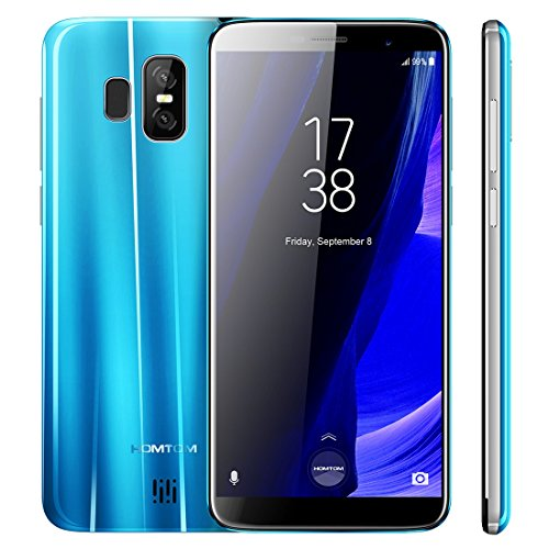 HOMTOM S7 3GB+32GB 5.5 inch Android 7.0 MTK6737 Quad Core up to 1.3GHz WCDMA & GSM & FDD-LTE (Blue)
