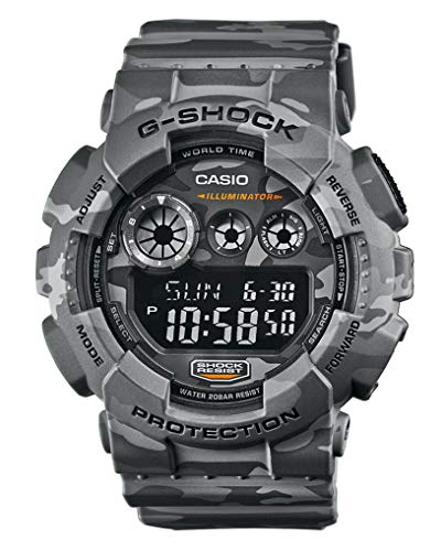 Casio G Shock GD-120CM-8ER G-Shock Uhr Watch Montre Camo Pack limited Edition ()