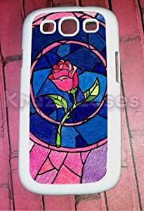 Samsung Galaxy S3 Case, Beauty and Beast Rose Galaxy S3 Cover, Samsung Galaxy S3 Cases, Galaxy S3 Case wangjiang maoyi