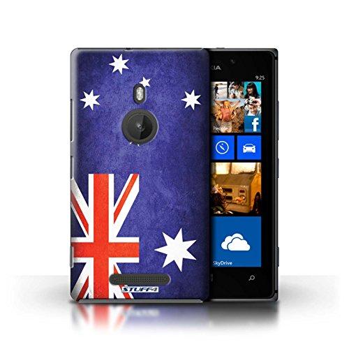 Kobalt® Imprimé Etui / Coque pour Nokia Lumia 925 / Australie/australien conception / Série Drapeau