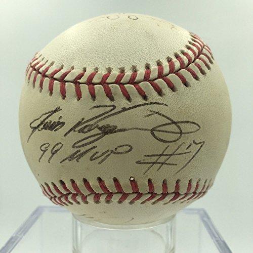 Ivan Rodriguez Signed Baseball - 2