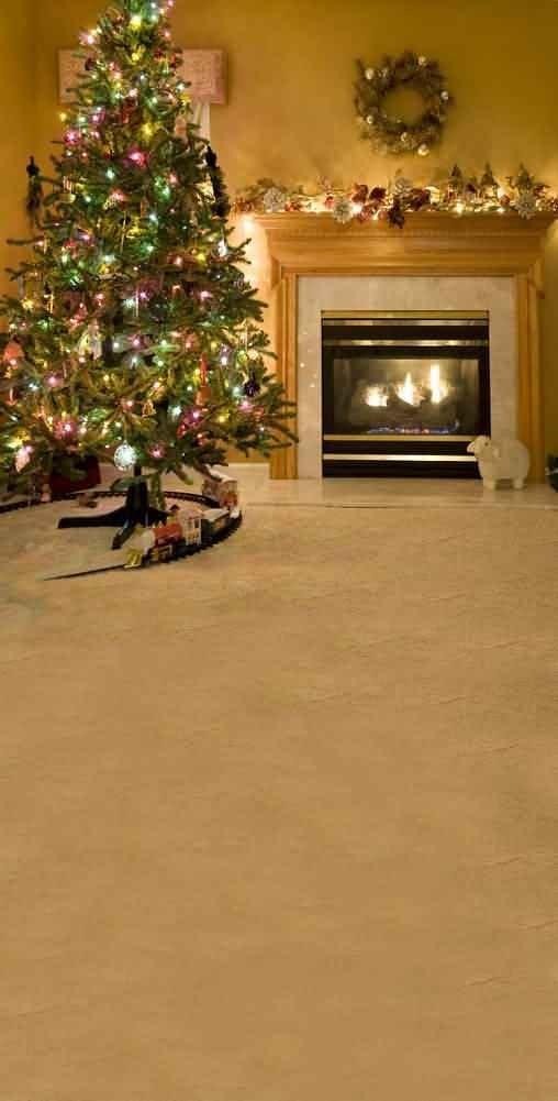 GladsBuy Christmas Stove 10 x 20 Computer Printed Photography Backdrop Christmas Theme Background ST-120