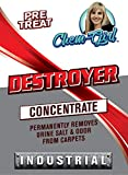 DESTROYER - Best Permanent Urine Stain and Odor Remover. No More Re-Marking. Dissolve and Neutralize the Urine Salts. Spot and Stain Gone for Good.