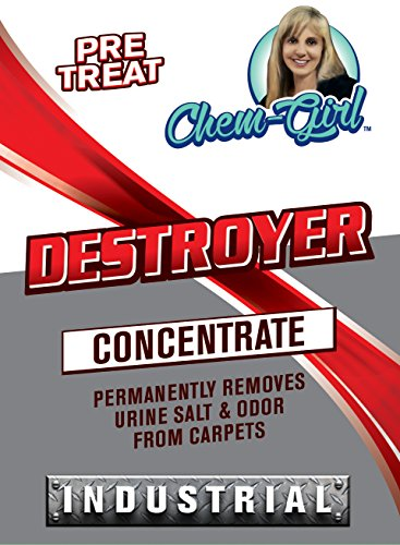 DESTROYER - Best Permanent Urine Stain and Odor Remover. No More Re-Marking. Dissolve and Neutralize the Urine Salts. Spot and Stain Gone for - Dirty Sunnies Dog