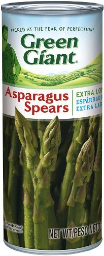 Green Giant Extra Long Whole Asparagus Spears 15oz Can (Pack of 6)