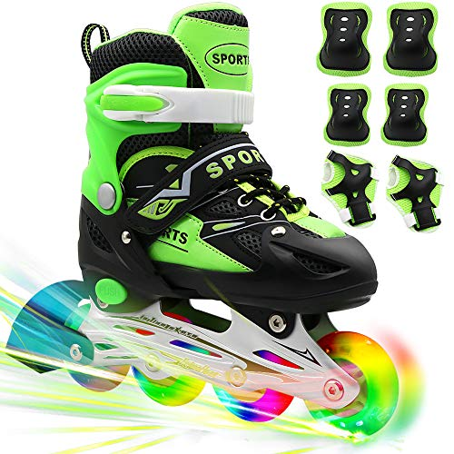 PETUOL Kids Inline Skates, Christmas Adjustable and Safe...