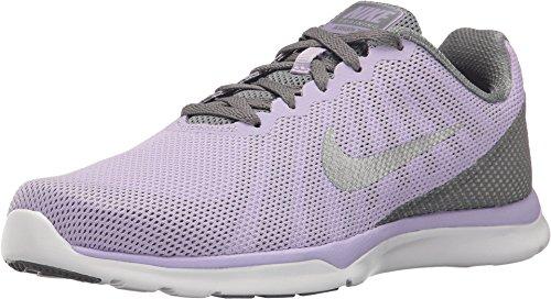 Nike Women's in-Season TR 6 Cross Trainer, Hydrangeas/Metallic Silver/Cool Grey, 6.5 B US