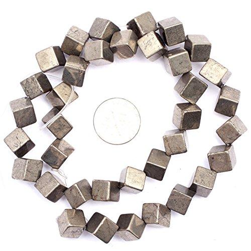 Natural Cube Pyrite Gemstone DIY Jewelry Making Loose Beads 15