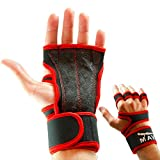 Training Grips for Wrist Support – for WODs, Cross Training, Pull ups, Workouts, Grips for Lifting – Best Kettlebell Grips Wrist Weight against Blisters, No Chalk WOD Glove & Women Mava, Pair