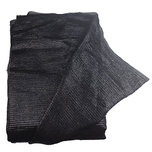 E.share 40% 10'x 100'Black Sun Net Sun Mesh Shade Sunblock Shade Cloth UV Resistant Net For Garden Flower Plant For Greenhouse-can custom size