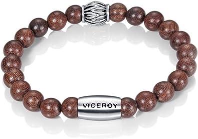 Viceroy Pulsera Caballero Fashion Acero con Piedras: Amazon.es: Joyería