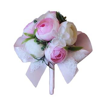 Amazon Estyle Fashion Wedding Artificial Flower Corsage Bridal