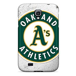 Durable Hard Cell-phone Cases For Samsung Galaxy S4 (Bgo4062WYVy) Provide Private Custom Lifelike Oakland Athletics Pictures