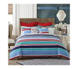 Tommy Hilfiger Dunmore Stripe Comforter Set Twin/Twin XL Comforter Set