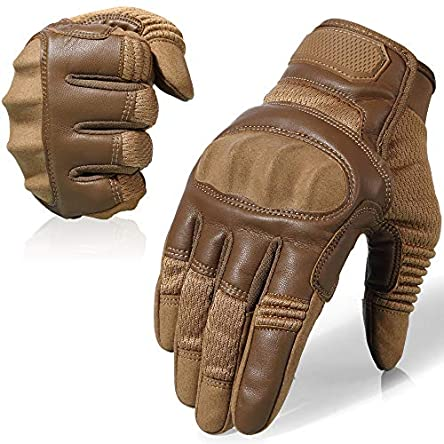 AXBXCX Touch Screen Full Finger Gloves for Motorcycles...