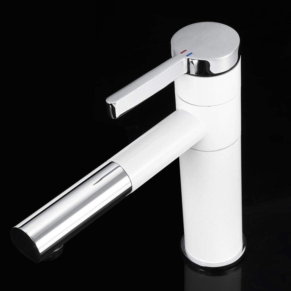 Robinets de lavabo /à pulv/érisation pour salle de bain robinets rotatifs /à 360/° mitigeur monobloc en laiton monobloc grue avec a/érateur robinet de lavabo robinet de salle de bain froid et chaud