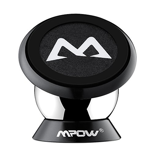 Mpow Car Mount, Dashboard Magnetic Mini Car Mount Universal Cell Phone Holder GPS Car Mount Phone Cradle for iPhone 7 7Plus 6s/6 Plus 5s 5c