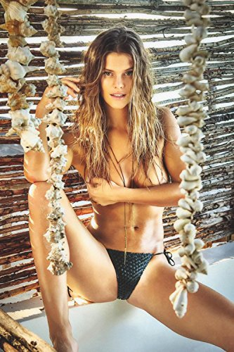 Nina Agdal Spread Legs Hot Girl Poster 24x36