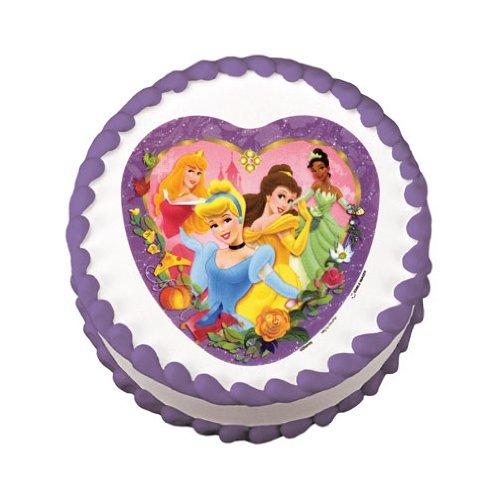 Lucks Edible Image Disney Princesses Fairytale Cake Decoration