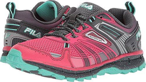 Fila Women's TKO 4.0 Trail Running Shoe, Sparkling Cosmo/Dark Shadow/Cockatoo, 9.5 Medium...