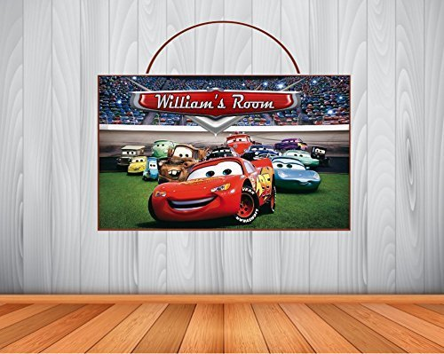 Amazon Com Personalized Disney Cars Sign Cars Personalized