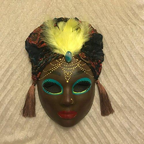 Ethnic Halloween Costumes (Venetian mask, Costume Mask, Mardi Gras Mask, halloween mask, ethnic mask, ethnic decor, african american style, african american woman, african mask, ethnic fusion)