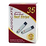 Advocate Redi-Code Plus Test Strips 35ct/bx 20 bx/inner pk 20pk/cs, Case of 400