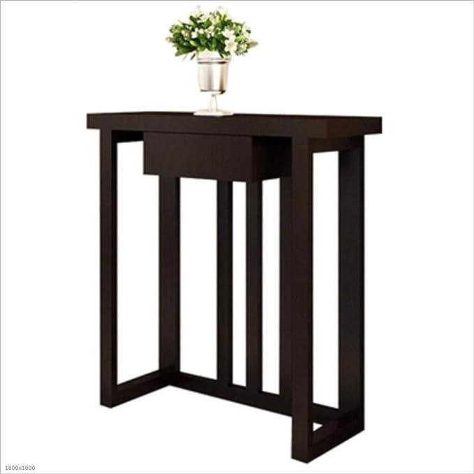 BinLZ-Table Tabla Estrecha de la Entrada del Ordenador de Madera ...