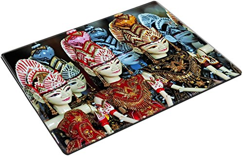 MSD Place Mat Non-Slip Natural Rubber Desk Pads design 32463822 wayang golek is Sundanese traditional art puppet from Indonesia by MSD