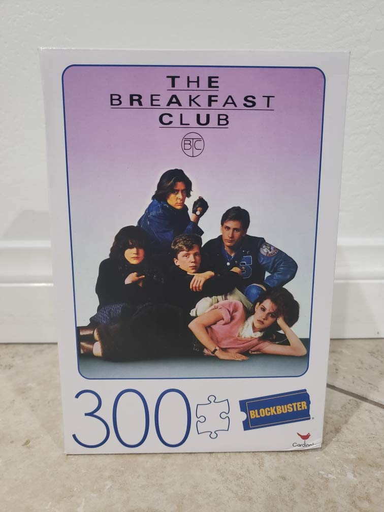 The Breakfast Club Blockbuster Puzzle 300 Piece Puzzle
