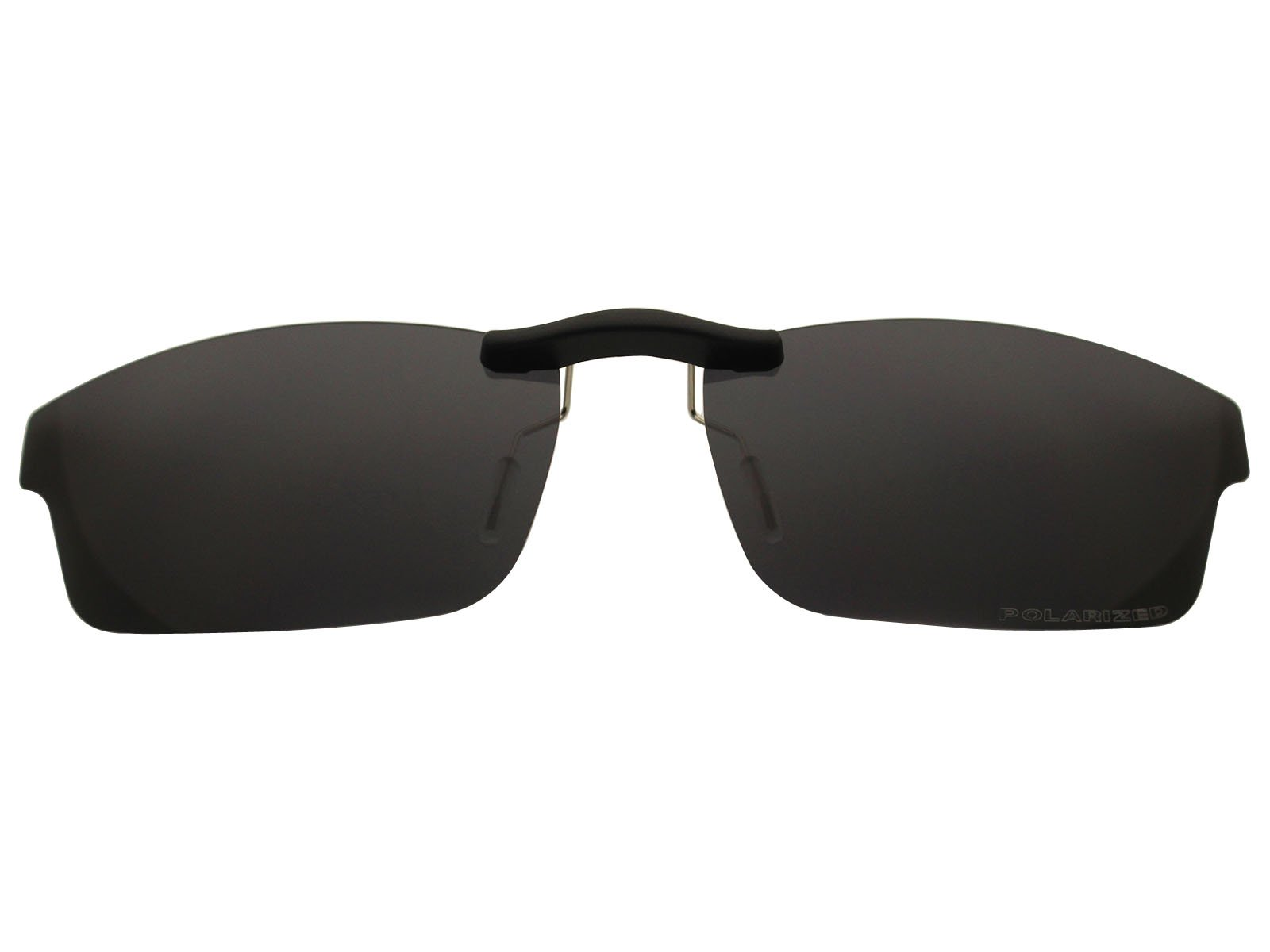 Custom Fit Polarized CLIP-ON Sunglasses For Oakley Crosslink OX8030 55X18 Black by COODY
