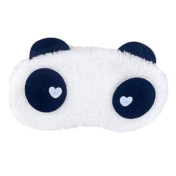 fish Máscaras Panda sueño Eye Mask Visera Parche Terciopelo Panda el Dormir del Recorrido con los Ojos vendados Cubierta de la Siesta: Amazon.es: Hogar