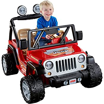 Power Wheels Jeep Wrangler Red