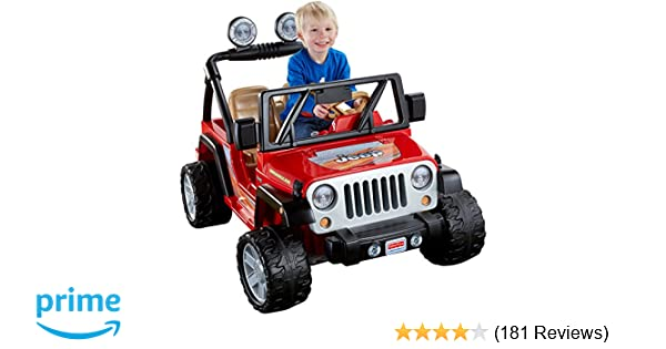 Amazon.com  Power Wheels Jeep Wrangler bbd744a54