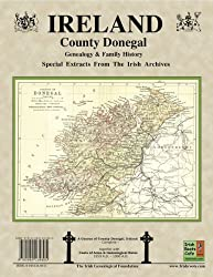 County Donegal Ireland, Genealogy & Family History Notes with coats of arms