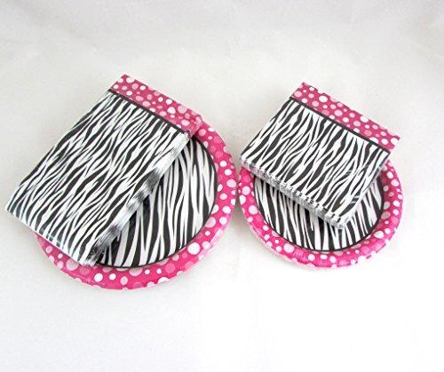 Pink Black Zebra Party Decoration Tableware Napkins Paper