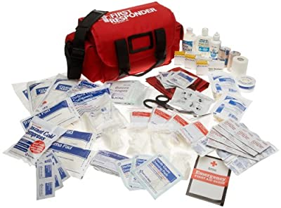 First Aid Only First Responder Emergency First Aid Kit, 159-Piece Bags from First Aid Only