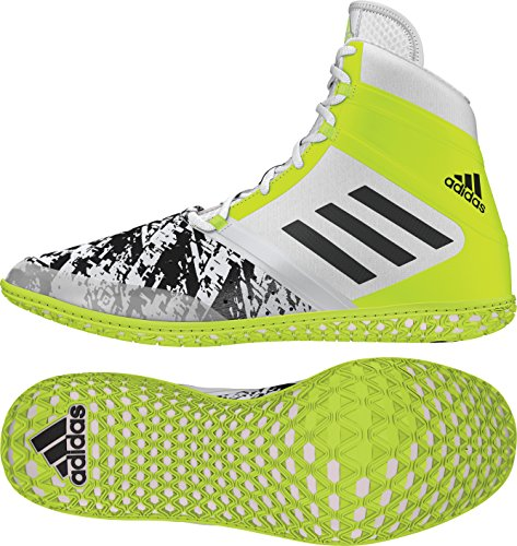Black Shoe Yellow Solar Mens White Wrestling adidas Impact XqwRE1