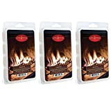 Candle Warmers Etc. 5 oz Wax Melt 3-Pack, Fireside