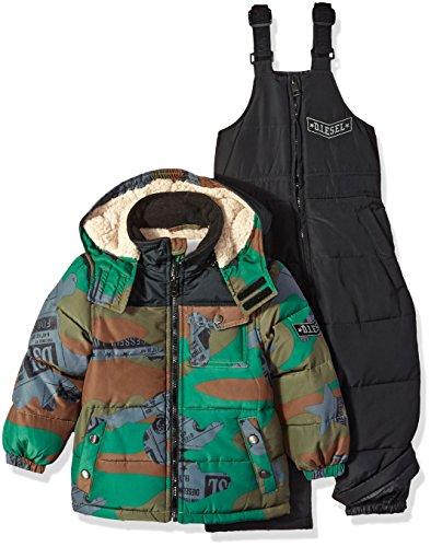 insulated bib overalls toddler - 9