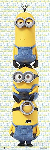 Minions - The Movie - Door Movie Poster / Print