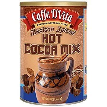 Mexican Spiced Cocoa - Caffe D'Vita Cans (Mexican Spiced Cocoa) 48 oz