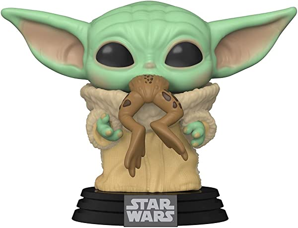 Funko POP! Star Wars: The Mandalorian - The Child with Frog