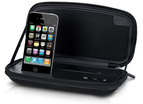 6w Ipod Docking - iHome  iP37BB 30-Pin iPod/iPhone Portable Speaker Case