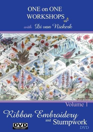 (One on One Workshops in Ribbon Embroidery and Stumpwork with Di van)