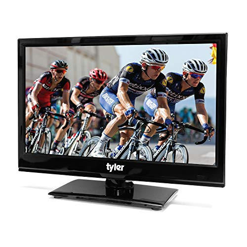 (Tyler 15.6-Inch Digital LED Widescreen TV with Full HD Support, HDMI, HDTV, USB Input, PC Input, Monitor and AC/DC Power Adapter (TTV902-15.6-BK) )