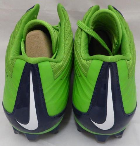 Marshawn Lynch Autographed Signed Nike Cleats Shoes Seahawks Ml Holo 131211 Autographed NFL Cleats