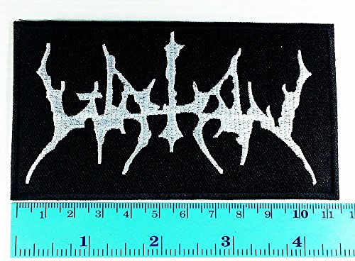 [Watain Lawless Darkness Band logo Heavy Metal Punk Rock Jacket T Shirt Patch Sew Iron on Embroidered Symbol Badge Cloth Sign Costume] (Lawless Costume)