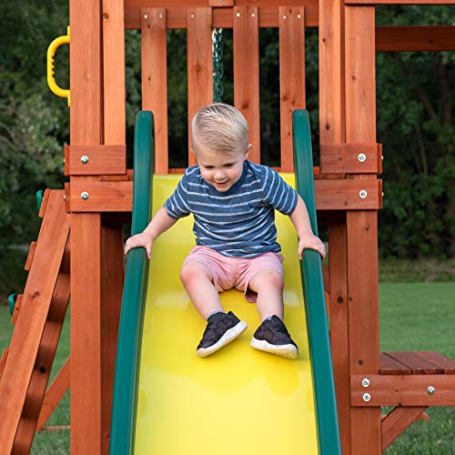 Backyard Discovery Tucson All Cedar Wood Playset Swing Set by Backyard Discovery (Image #4)